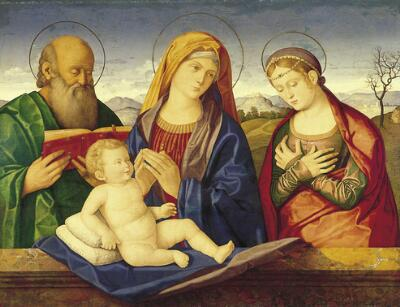 Madonna and Child with St. Peter and St. Catherine of Alexandria