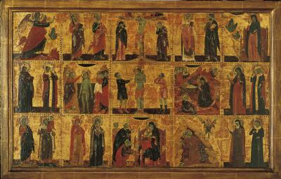 Scenes in the Life of Christ with Patron Saints (15 Scenes)