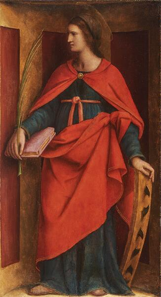 saint catherine of alexandria norton simon museum