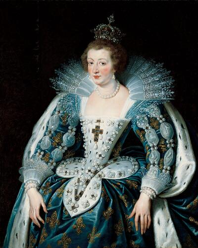 Portrait of Anne of Austria, Queen of France