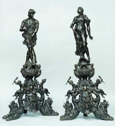 War and Peace (Andirons)