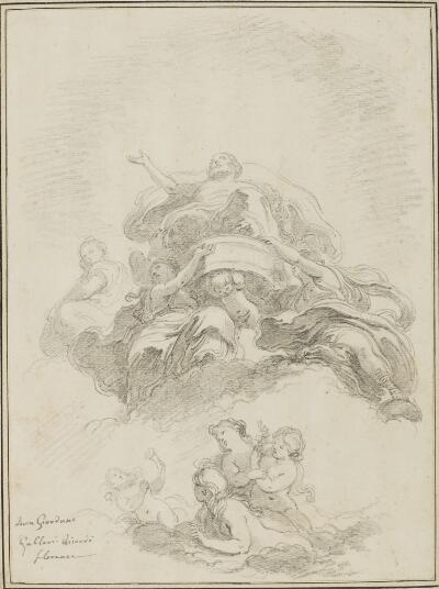 Study After Luca Giordano: Triumph of Jupiter (from the Palazzo Medici Riccardi)