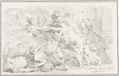 Study After Peter Paul Rubens: Mars and the Horrors of War (from the Pitti Palace)