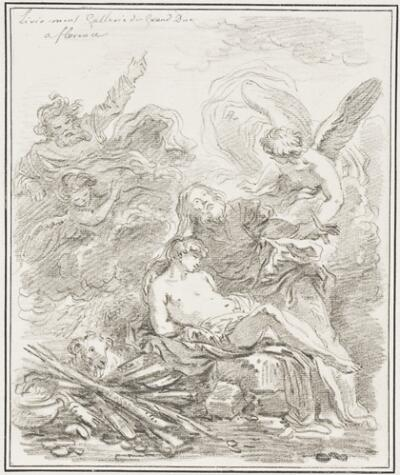 Study After Lieven Mehus: Sacrifice of Abraham (from the Collection of Granduca)