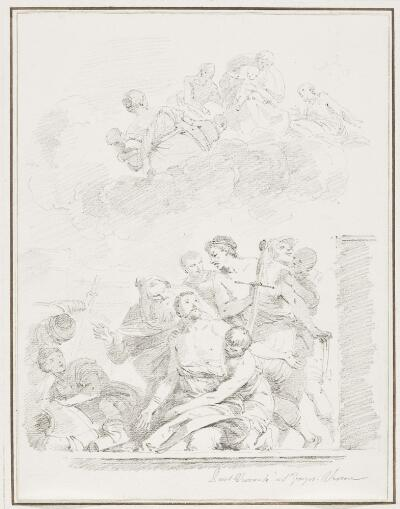 Study After Paolo Veronese: Martyrdom of St. George (from San Giorgio Maggiore)