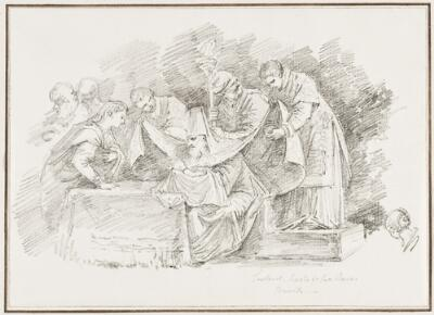 Study after Tintoretto: The Circumcision (from San Rocco)