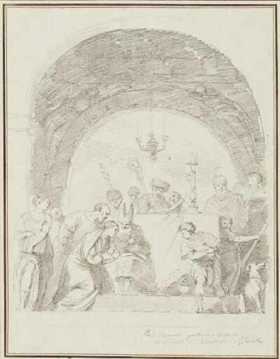 Study after Paolo Veronese: Presentation at the Temple (from the San Sebastiano)
