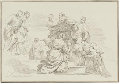 Study After Paolo Veronese: Saints Marco and Marcellino Taken to Their Martyrdom (from the San Sebastiano)