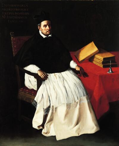 Portrait of Fray Diego Deza