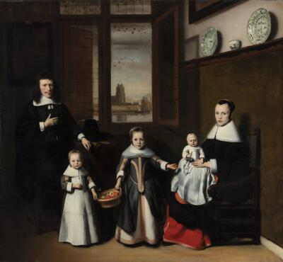 Interior with a Dordrecht Family