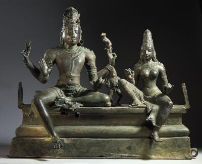 Shiva with Uma and Skanda (Somaskanda)