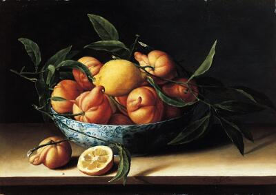 Still Life with Bowl of Curacao Oranges