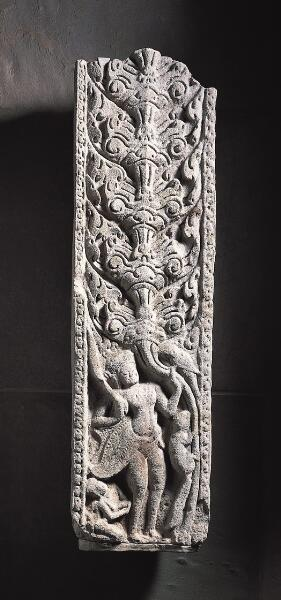 Pilaster with Figures, Animals and Foliage