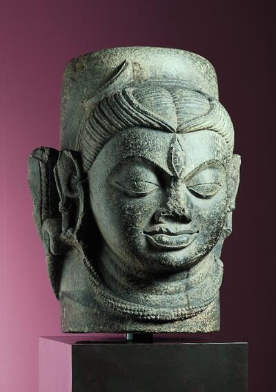 Shivalingam with One Face
