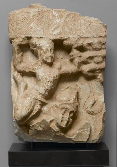 Relief Fragment with Flying Celestial Being