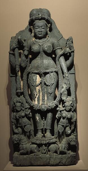 Durga with Attendants
