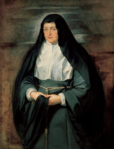 Portrait of Archduchess Isabella Clara Eugenia, Spanish Regent of the Low Countries, as a Nun