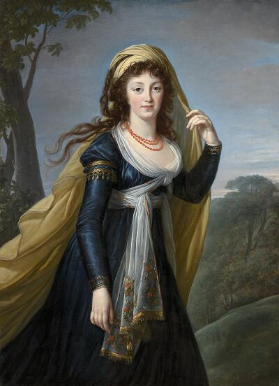 Portrait of Theresia, Countess Kinsky