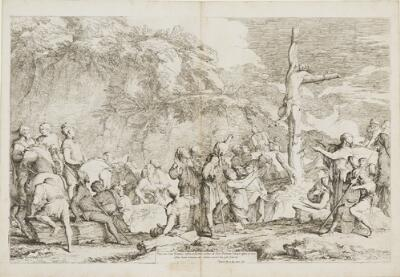 The Works of Salvator Rosa: The Crucifixion of Polycrates