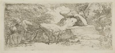 The Works of Salvator Rosa: Piping Satyr