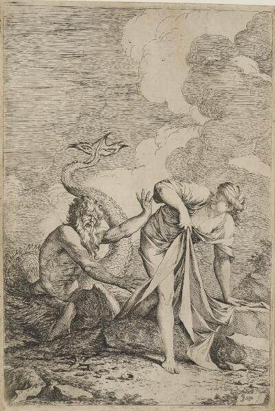 The Works of Salvator Rosa: Glaucus and Scylla