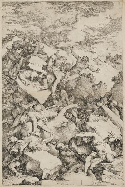 The Works of Salvator Rosa: The Fall of the Giants