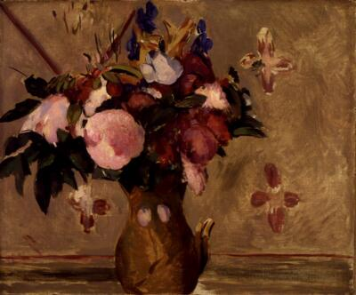 Vase of Flowers (After Cézanne)