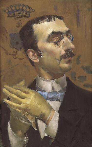 Portrait of a Dandy (formerly Portrait of Toulouse -Lautrec)