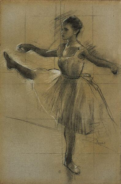 Dancer (Battement in Second Position)