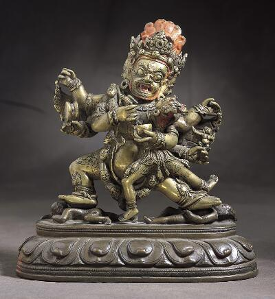 Vajrapani with Consort