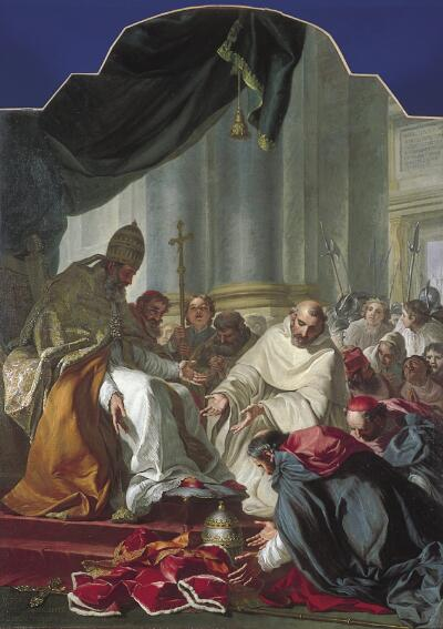 The Submission of the Antipope Victor IV to Pope Innocent II