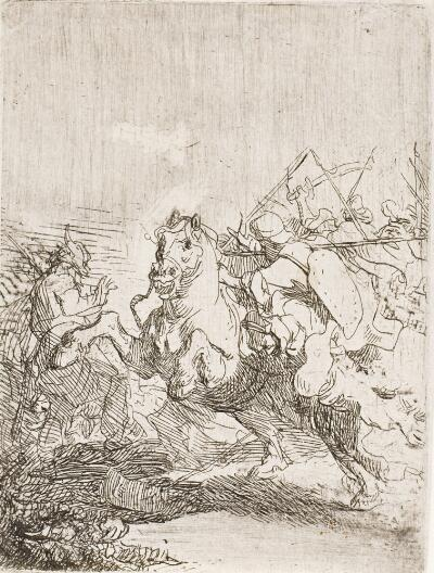 A Cavalry Fight