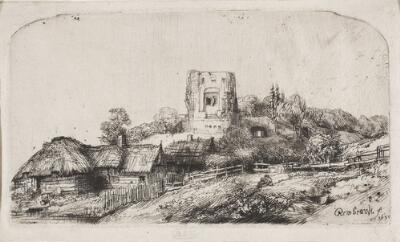 Landscape with a Square Tower