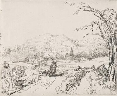 Landscape with Sportsman and Dogs ('Het Jagertje')