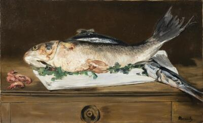 Still Life with Fish and Shrimp