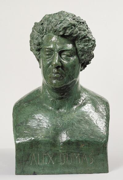 Bust of Alexandre Dumas the Elder
