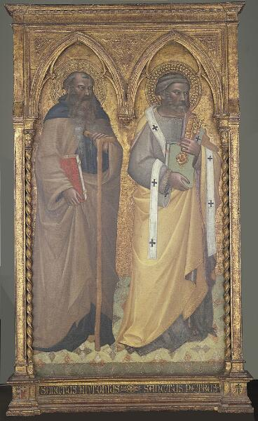 Saints Anthony and Peter
