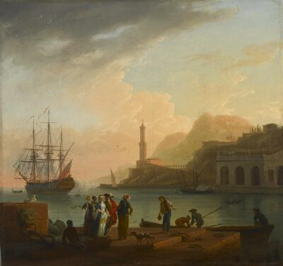The Embarkation of a Young Greek Woman