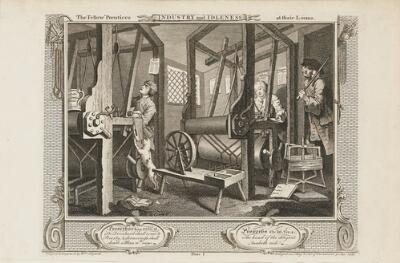 Industry and Idleness:  The Fellow 'Prentices at Their Looms