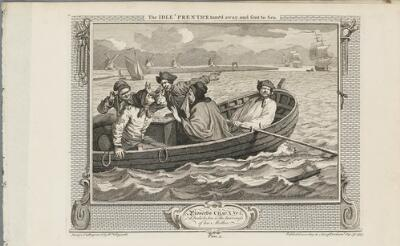Industry and Idleness: The Idle 'Prentice Turn'd Away, and Sent to Sea