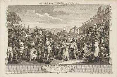 Industry and Idleness: The Idle 'Prentice Executed at Tyburn