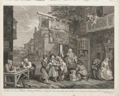 Four Prints of an Election: Canvassing for Votes