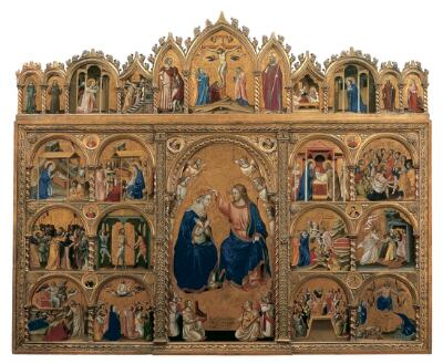 Coronation of the Virgin Altarpiece