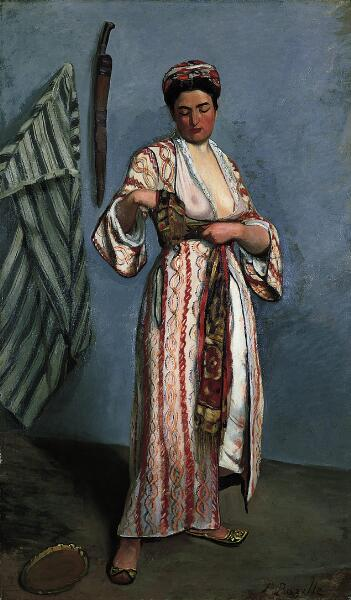 Woman in a Moorish Costume