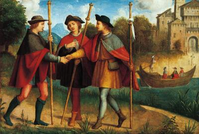 "The Story of the Val di Non:  ""The Vow of the Three Friends"""