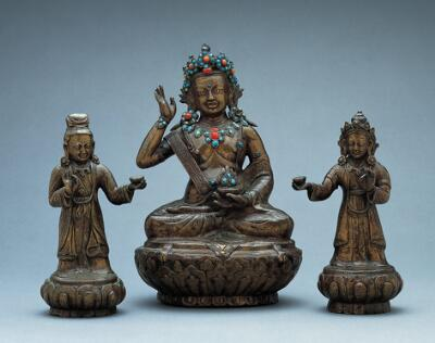 Female Attendant (from Milarepa or a Mystic with Two Royal Attendants)