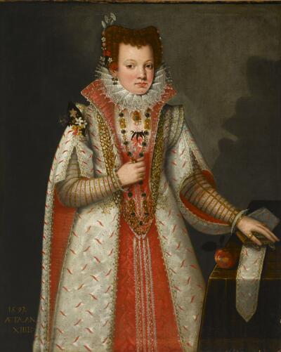 Portrait of a Young Noblewoman
