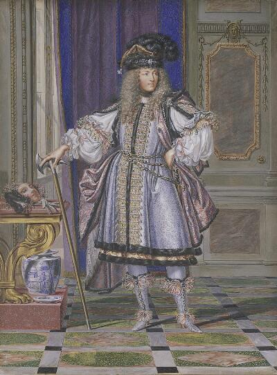Louis XIV in Costume
