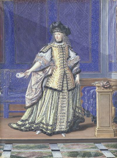 Mlle. de la Valliere in Costume