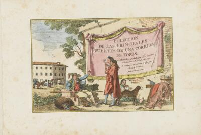 Collection of Principal Moves in a Bullfight: Title Page